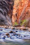 Inside The Narrows  Virgin River  Utah
