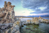 October Morning Mono Lake  Sierra Nevada  California