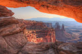 Morning at Mesa Arch  Canyonlands  Southern Utah