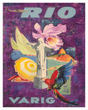 Rio  Brazil - Varig Airlines