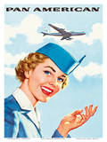 Pan Am American Stewardess