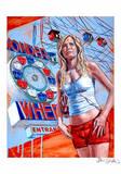 Wonder Wheel Reproduction d'art par Jason Stillman