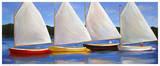 Colored Catboats