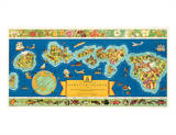 Dole Map of The Hawaiian Islands: description of the history  transportation  industries  geography
