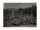 Bryn Mawr College Students Celebrating May Day