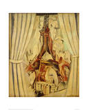 Eiffel Tower with Curtains  1910
