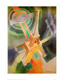 Eiffel Tower, 1928 Giclée par Robert Delaunay