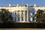 The Back Facade of the White House