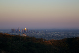 Griffith Park Observatory and Downtown Los Angeles