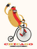 Chicago Style 1893 (Hotdog on bike)