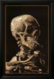 Skull With Cigarette  1885