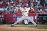 Aug 21  2013  Cleveland Indians vs Los Angeles Angels of Anaheim - Cody Allen