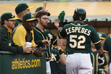 May 13  2014  Chicago White Sox vs Oakland Athletics - Yoenis Cespedes