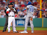 May 20  2014  Toronto Blue Jays vs Boston Red Sox - Dustin Pedroia  Melky Cabrera