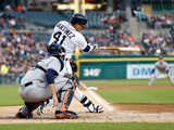 May 6  2014  Houston Astros vs Detroit Tigers - Jason Castro  Victor Martinez