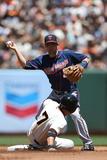 May 25  2014  Minnesota Twins vs San Francisco Giants - Brian Dozier  Gregor Blanco