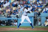 Apr 19  2014  Arizona Diamondbacks vs Los Angeles Dodgers - Dee Gordon