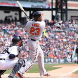 Apr 6  2014  Baltimore Orioles vs Detroit Tigers - Nelson Cruz