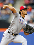 Jul 4  2014  Texas Rangers vs New York Mets - Yu Darvish