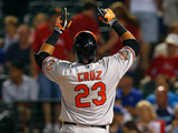 Jun 3  2014  Baltimore Orioles vs Texas Rangers - Nelson Cruz