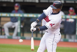 May 5  2014  Minnesota Twins  vs Cleveland Indians - Michael Brantley