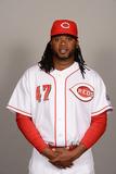 2014 Cincinnati Reds Photo Day: Feb 20 - Johnny Cueto