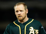 Apr 16  2014  Oakland Athletics vs Los Angeles Angels of Anaheim - Brandon Moss
