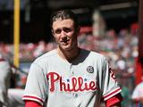 Apr 27  2014  Philadelphia Phillies vs Arizona Diamondbacks - Chase Utley
