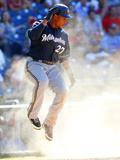 Jul 25  2012  Milwaukee Brewers vs Philadelphia Phillies - Carlos Gomez