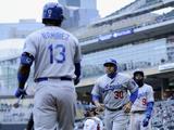 May 1  2014  Los Angeles Dodgers vs Minnesota Twins - Dee Gordon  Hanley Ramirez
