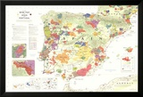 Iberia Wine Map (Spain & Portugal) Poster