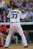 Apr 20  2014  Philadelphia Phillies vs Colorado Rockies - Justin Morneau