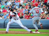 May 7  2014  St Louis Cardinals vs Atlanta Braves - Matt Carpenter  Freddie Freeman