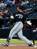 Sep 25  2013  Milwaukee Brewers vs Atlanta Braves - Carlos Gomez