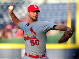 May 7  2014  St Louis Cardinals vs Atlanta Braves - Adam Wainwright