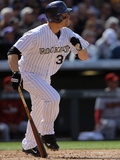 Apr 4  2014  Arizona Diamondbacks vs Colorado Rockies - Justin Morneau