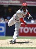 Jul 2  2014  Cincinnati Reds vs San Diego Padres - Johnny Cueto