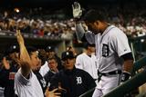 2013 American League Division Series: Oct 8  Oakland Athletics vs Detroit Tigers - Victor Martinez