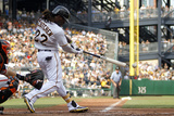 Jul 7  2012  San Francisco Giants vs Pittsburgh Pirates - Andrew McCutchen