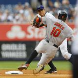 Sep 1  2013  Baltimore Orioles vs New York Yankees - Adam Jones  Alex Rodriguez