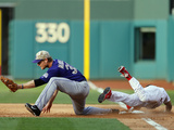 May 26  2014  Colorado Rockies vs Philadelphia Phillies - Ben Revere  Justin Morneau