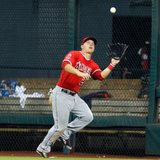 Apr 5  2014  Los Angeles Angels of Anaheim vs Houston Astros - Mike Trout