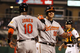 May 20  2014  Baltimore Orioles vs Pittsburgh Pirates - Adam Jones  Chris Davis