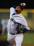 Aug 6  2013  Toronto Blue Jays vs Seattle Mariners - Felix Hernandez