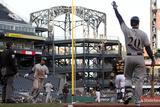 Apr 17  2014  Milwaukee Brewers vs Pittsburgh Pirates - Carlos Gomez  Jonathan Lucroy