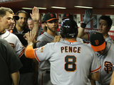 Jun 22  2014  San Francisco Giants vs Arizona Diamondbacks - Madison Bumgarner  Hunter Pence