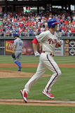 May 24  2014  Los Angeles Dodgers vs Philadelphia Phillies - Chase Utley