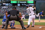 May 2  2014  New York Mets vs Colorado Rockies - Justin Morneau  Zack Wheeler