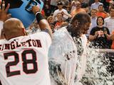 Jun 12  2014  Arizona Diamondbacks vs Houston Astros - Jon Singleton  Chris Carter