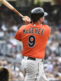 May 10  2014  Miami Marlins vs San Diego Padres - Casey McGehee